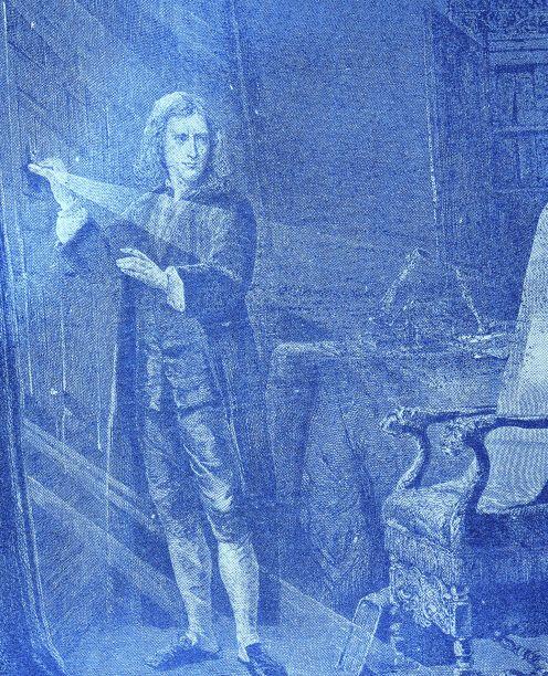 Isaac newton reflectionforabridge